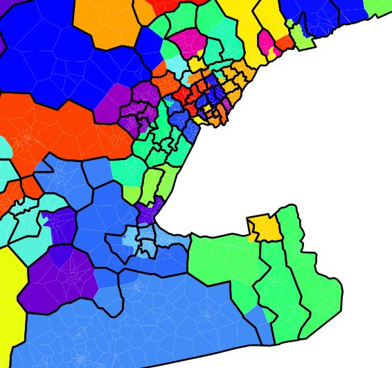 Ontario political districts